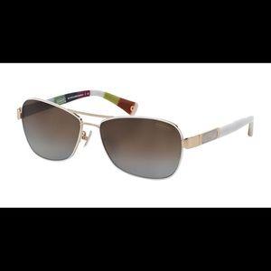 Coach HC 7012 L038 Caroline Polarized Sunglasses